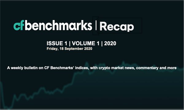 An early look at the CF Benchmarks weekly newsletter